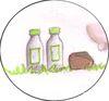 Produits laitiers - Pain - Farine